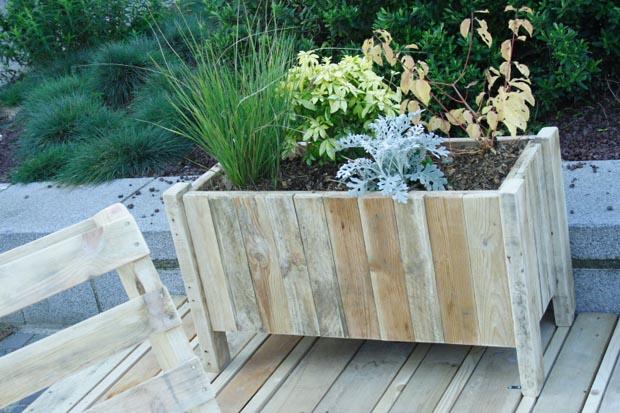Βεράντα Κήπος από ανακυκλωμένα υλικά4