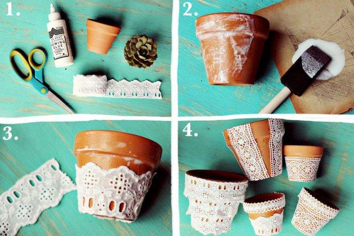 DIY Ιδέες για Γλάστρες10