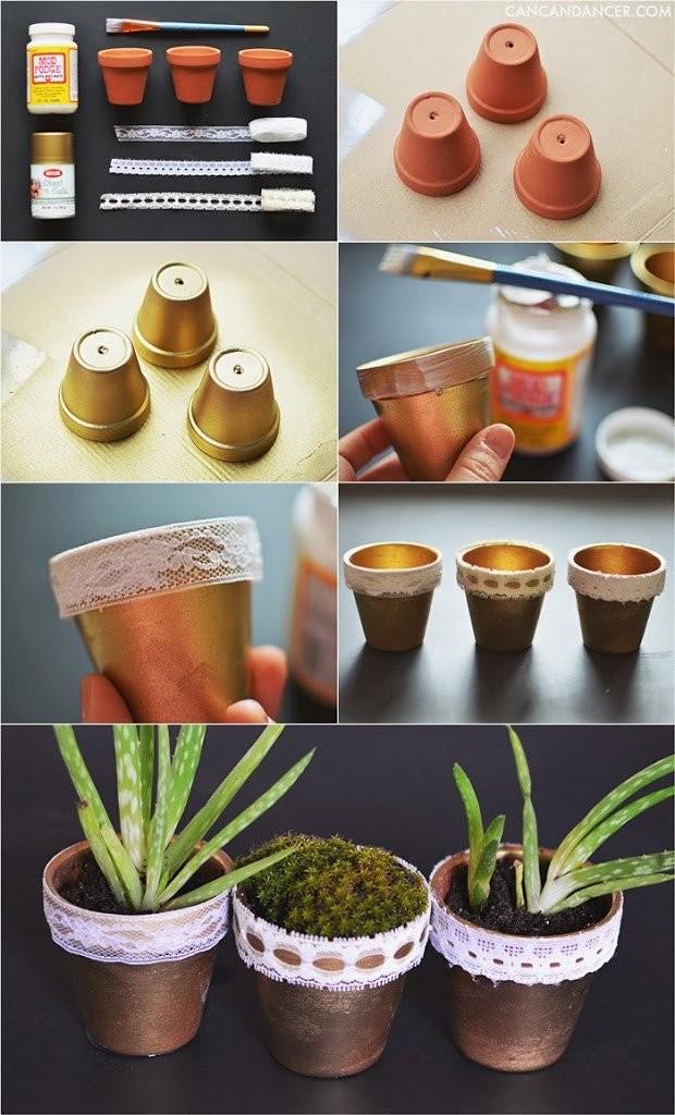 DIY Ιδέες για Γλάστρες4