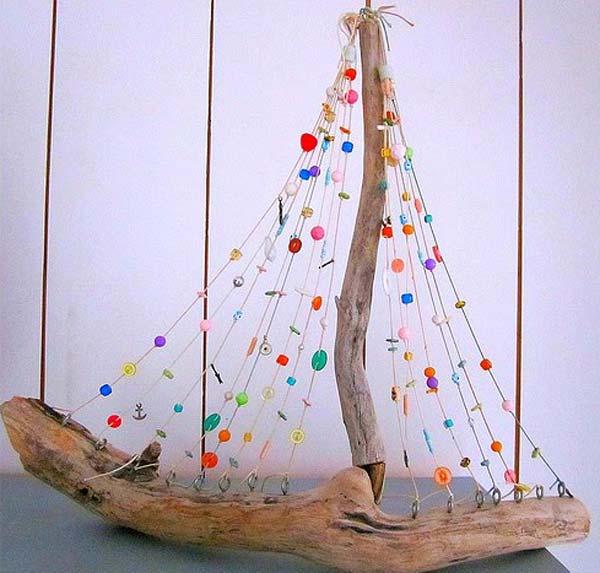 DIY ιδέες διακόσμησης με θαλασσόξυλα10