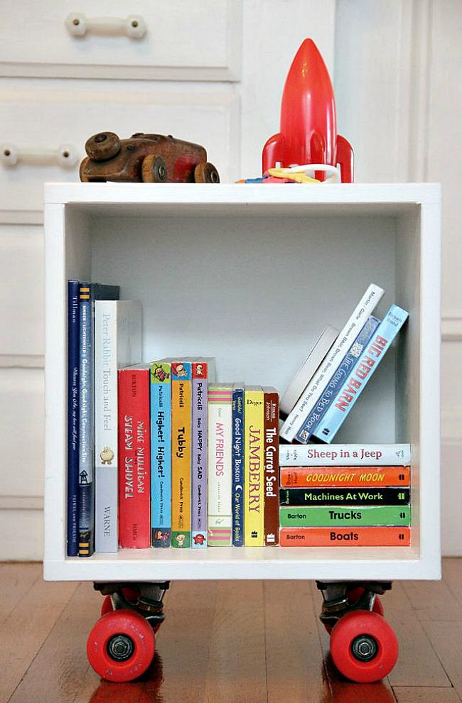 Διασκεδαστικές ιδέες αποθήκευσης για δωμάτιο του παιδιού σας10
