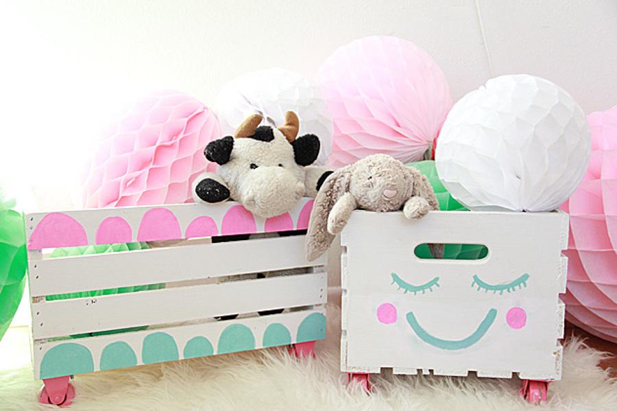Διασκεδαστικές ιδέες αποθήκευσης για δωμάτιο του παιδιού σας11