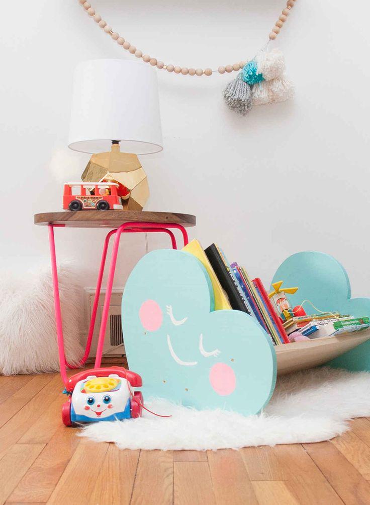 Διασκεδαστικές ιδέες αποθήκευσης για δωμάτιο του παιδιού σας2