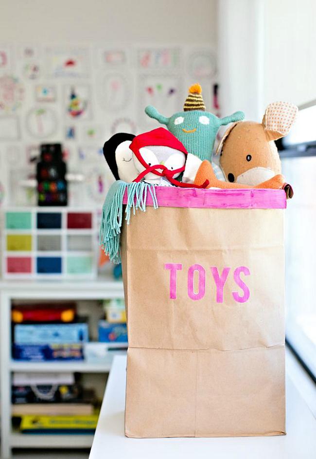 Διασκεδαστικές ιδέες αποθήκευσης για δωμάτιο του παιδιού σας4