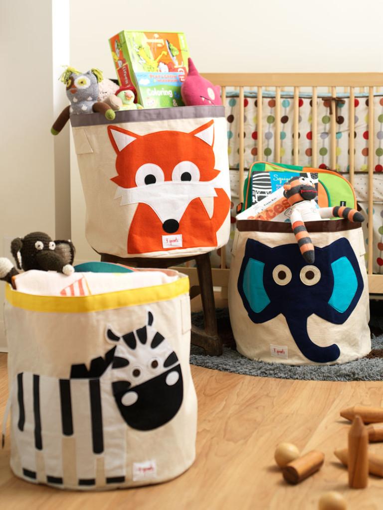 Διασκεδαστικές ιδέες αποθήκευσης για δωμάτιο του παιδιού σας8