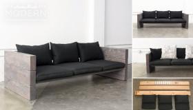 Πως να κάνετε μόνοι σας ένα υπέροχο Diy εξωτερικό καναπέ