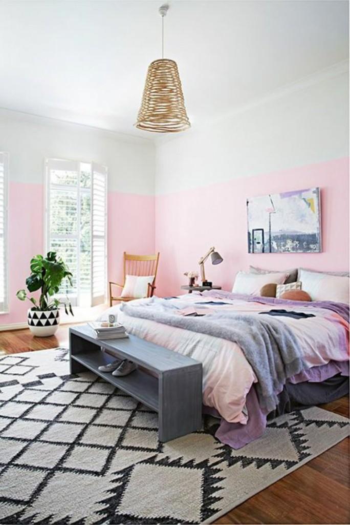 Χρώμα σχεδιαστικές ιδέες για ένα λαμπερό σπίτι12