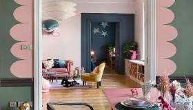 Έντονα χρώματα σε ένα καταπληκτικό σκανδιναβικό διαμέρισμα1