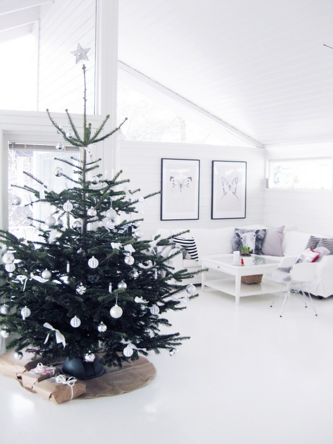 Μινιμαλιστικές ιδέες Χριστουγεννιάτικου δέντρου1