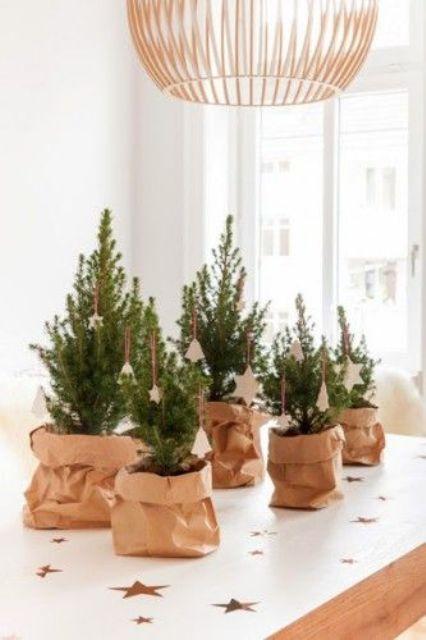 Μινιμαλιστικές ιδέες Χριστουγεννιάτικου δέντρου13