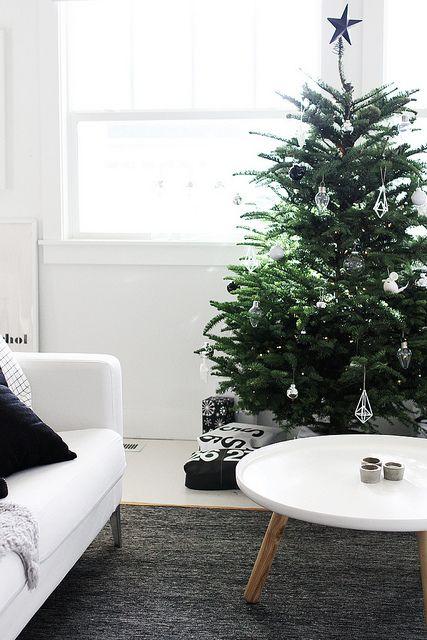Μινιμαλιστικές ιδέες Χριστουγεννιάτικου δέντρου14
