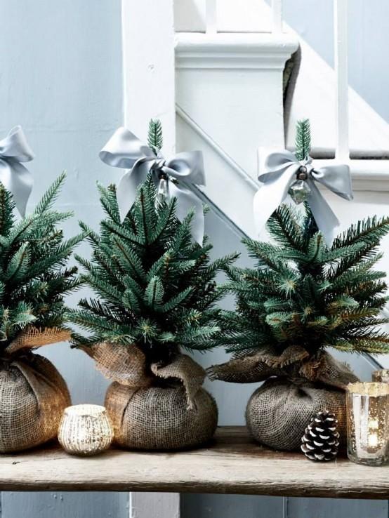 Μινιμαλιστικές ιδέες Χριστουγεννιάτικου δέντρου17