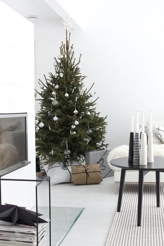 Μινιμαλιστικές ιδέες Χριστουγεννιάτικου δέντρου20