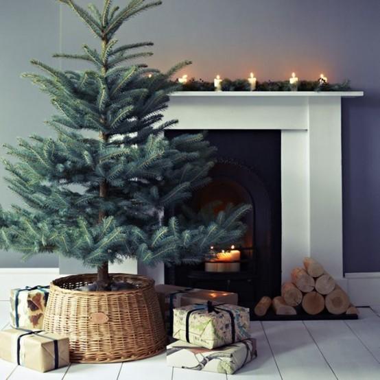 Μινιμαλιστικές ιδέες Χριστουγεννιάτικου δέντρου21