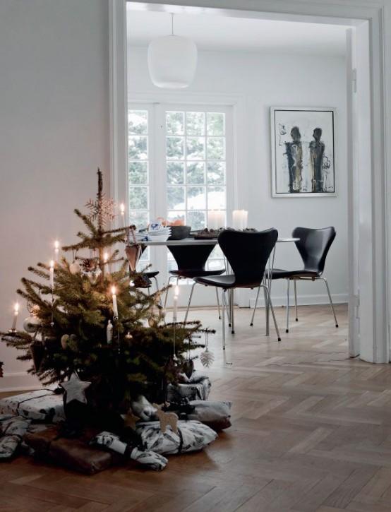 Μινιμαλιστικές ιδέες Χριστουγεννιάτικου δέντρου4