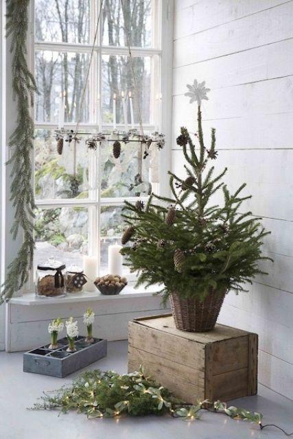 Μινιμαλιστικές ιδέες Χριστουγεννιάτικου δέντρου8