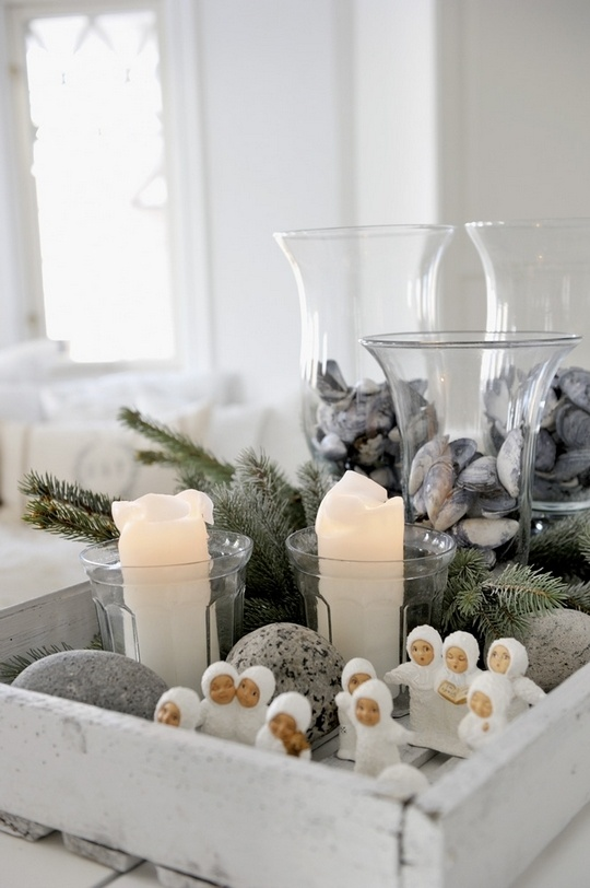 Χριστουγεννιάτικη διακόσμηση για ένα γήινο φυσικό σπίτι1