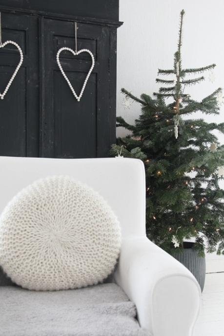 Χριστουγεννιάτικη διακόσμηση σκανδιναβικό στυλ