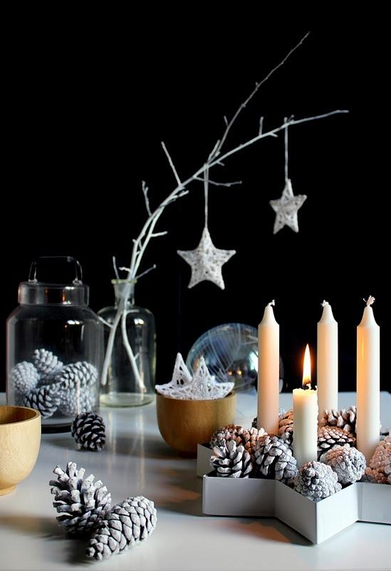 Χριστουγεννιάτικη διακόσμηση σκανδιναβικό στυλ1