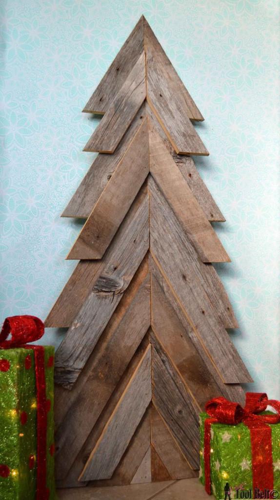 διακοσμήσεις Χριστουγέννων από παλέτες7