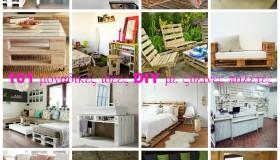101 μοναδικές ιδέες DIY με ξύλινες παλέτες