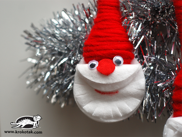 DIY - Χριστουγεννιάτικα στολίδια Άγιος Βασίλης6