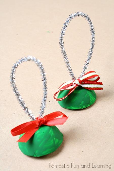 DIY Χριστουγεννιάτικα στολίδια6