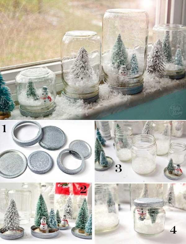 DIY Χριστουγεννιάτικες διακοσμήσεις12