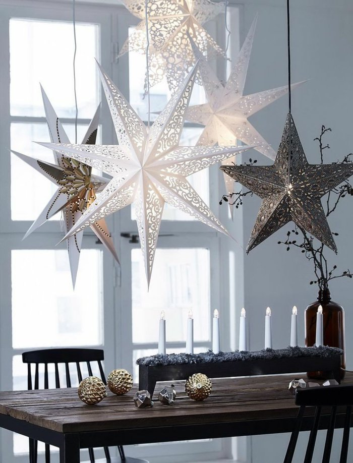 Χριστουγεννιάτικος στολισμός σε σκανδιναβικό στυλ2