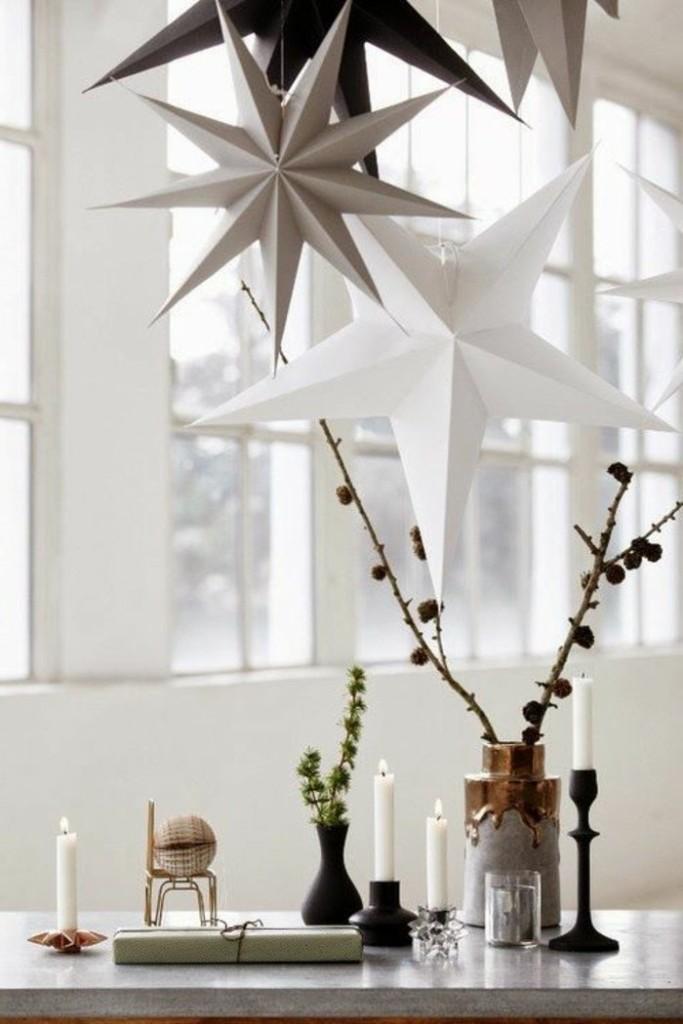 Χριστουγεννιάτικος στολισμός σε σκανδιναβικό στυλ44
