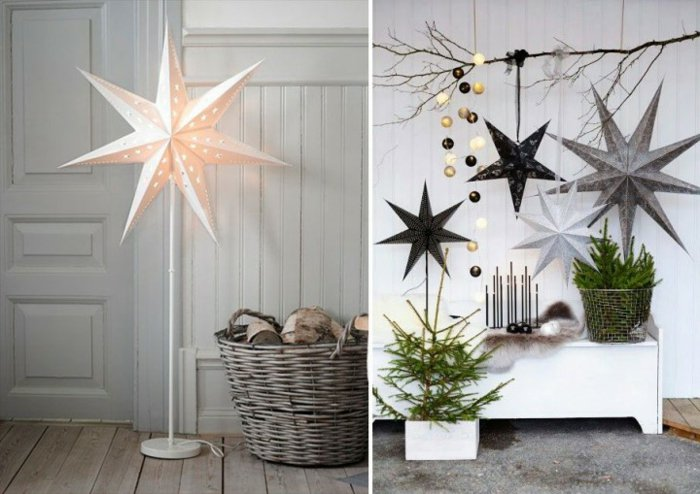 Χριστουγεννιάτικος στολισμός σε σκανδιναβικό στυλ5