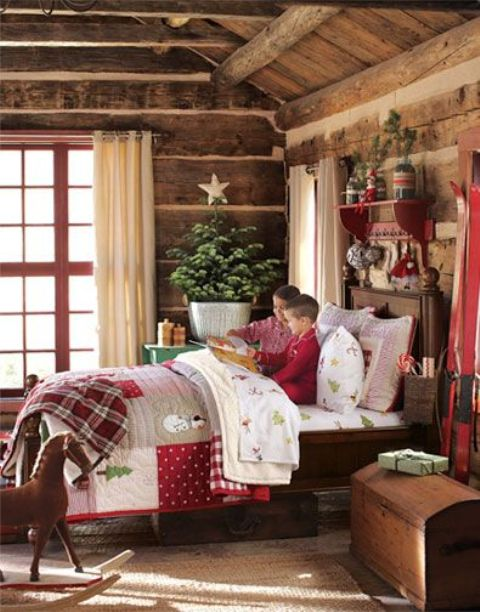 χριστουγεννιάτικες ιδέες διακόσμησης για τα δωμάτια των παιδιών14
