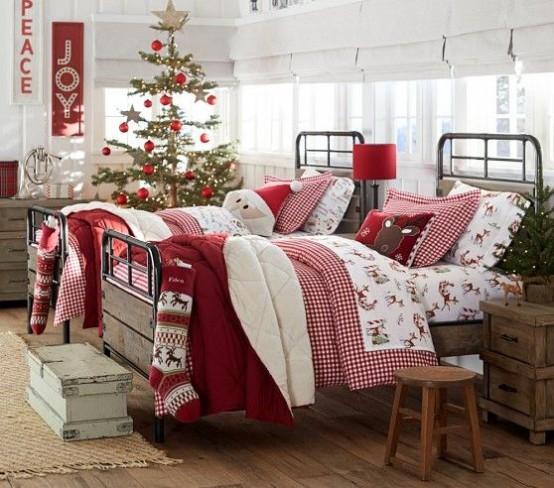 χριστουγεννιάτικες ιδέες διακόσμησης για τα δωμάτια των παιδιών19