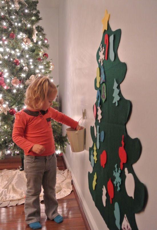 χριστουγεννιάτικες ιδέες διακόσμησης για τα δωμάτια των παιδιών20