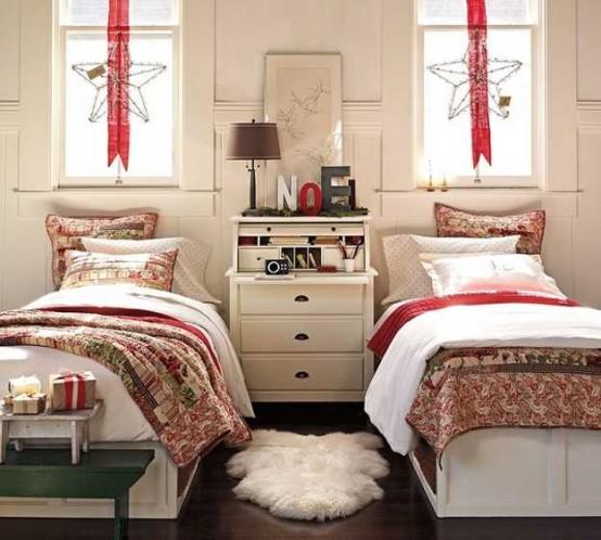 χριστουγεννιάτικες ιδέες διακόσμησης για τα δωμάτια των παιδιών5