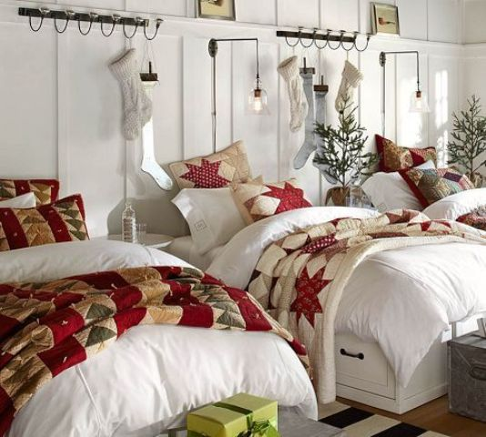 χριστουγεννιάτικες ιδέες διακόσμησης για τα δωμάτια των παιδιών8