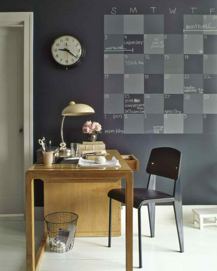 wall decoration ideas in dark shades19