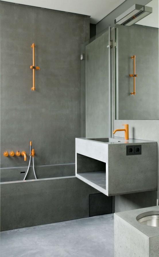 Μπετόν στο μπάνιο ιδέες10
