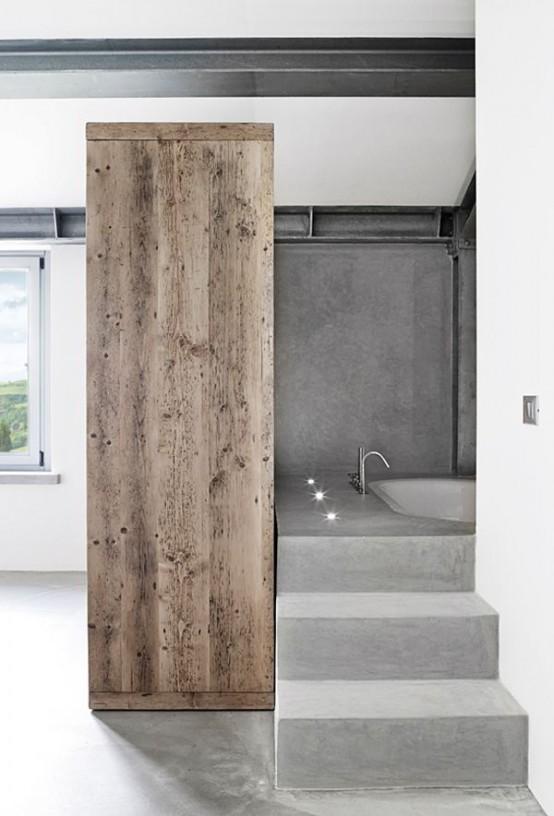 Μπετόν στο μπάνιο ιδέες13