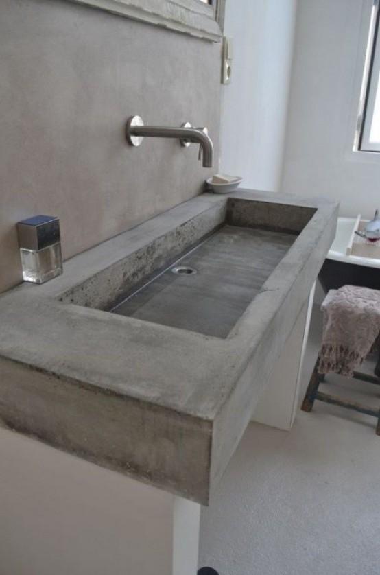Μπετόν στο μπάνιο ιδέες27