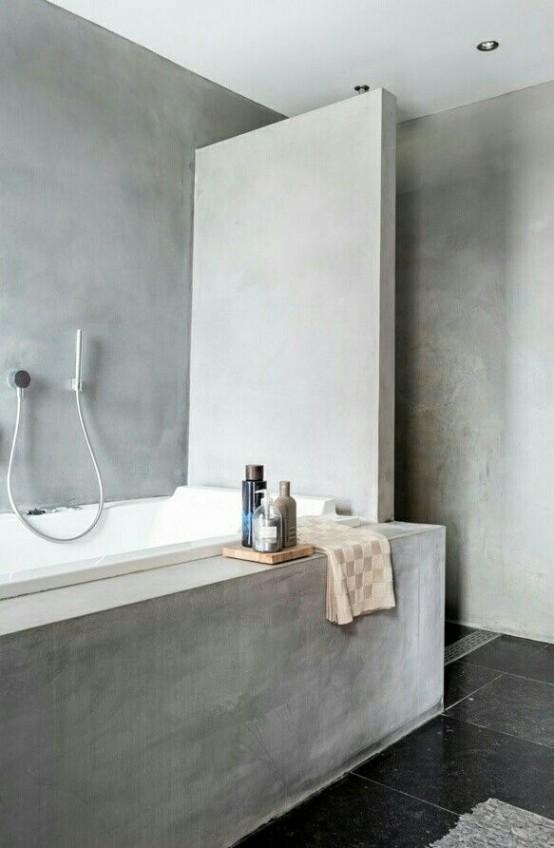 Μπετόν στο μπάνιο ιδέες6