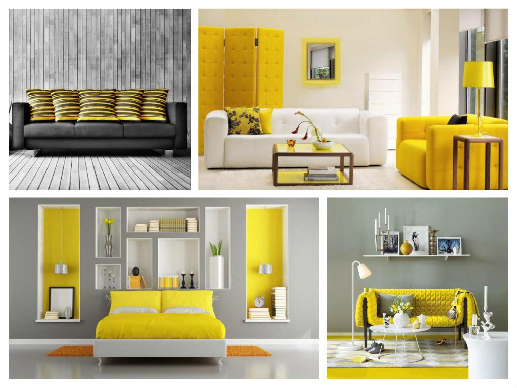 ιδέες διακόσμησης με κίτρινο1
