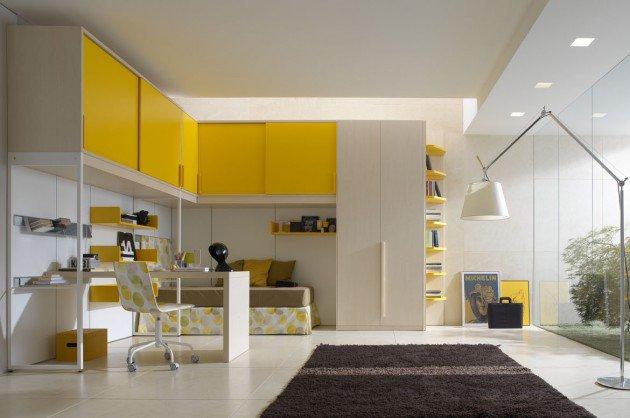 ιδέες διακόσμησης με κίτρινο11