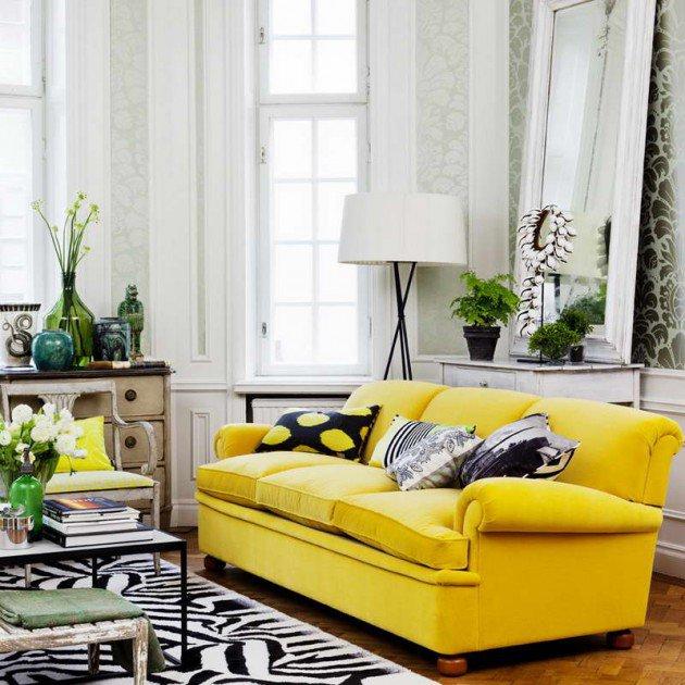 ιδέες διακόσμησης με κίτρινο12
