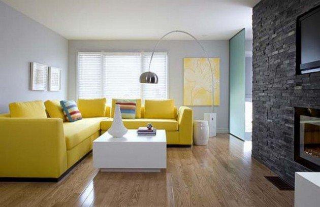ιδέες διακόσμησης με κίτρινο2