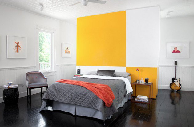 ιδέες διακόσμησης με κίτρινο3