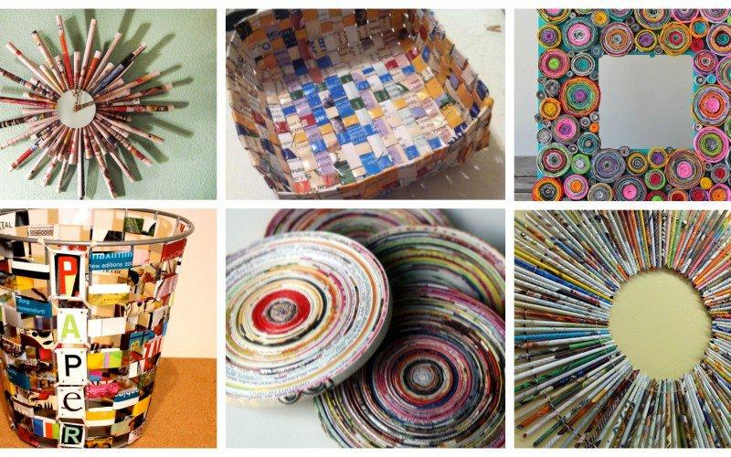 11 Δημιουργικές Diy ιδέες ανακύκλωσης από περιοδικά