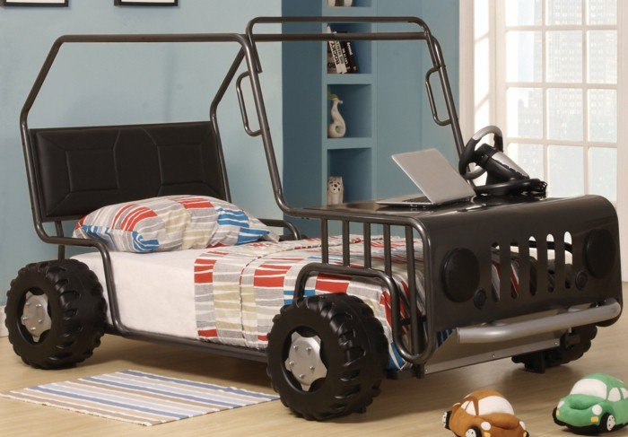 Car beds for your child's room15