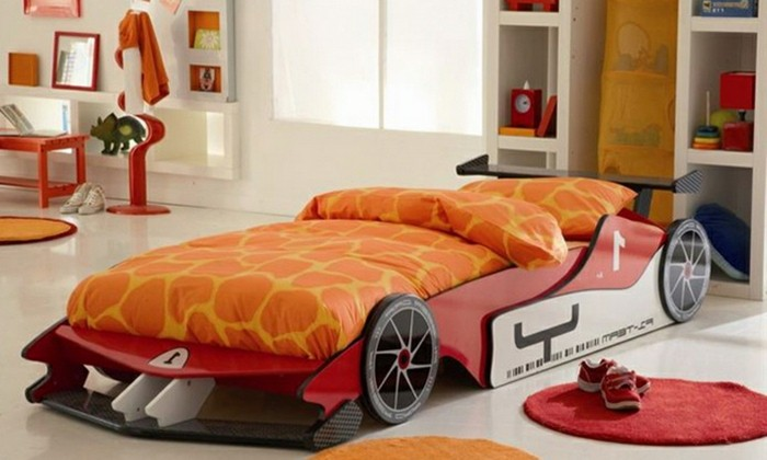 Car beds for your child's room31