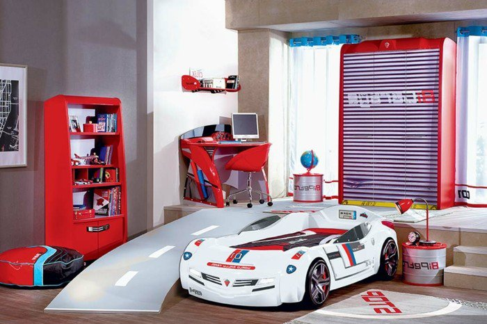 Car beds for your child's room5